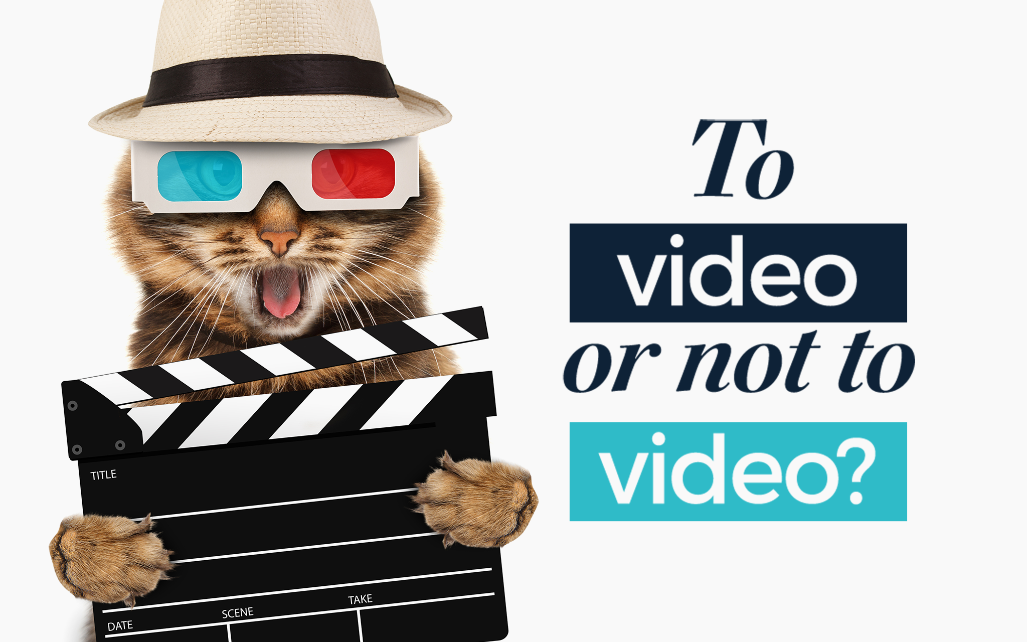 To video or not to video – that is the question?